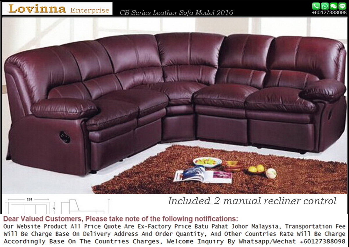 Lovinna Leather Sofa Page D Recliner