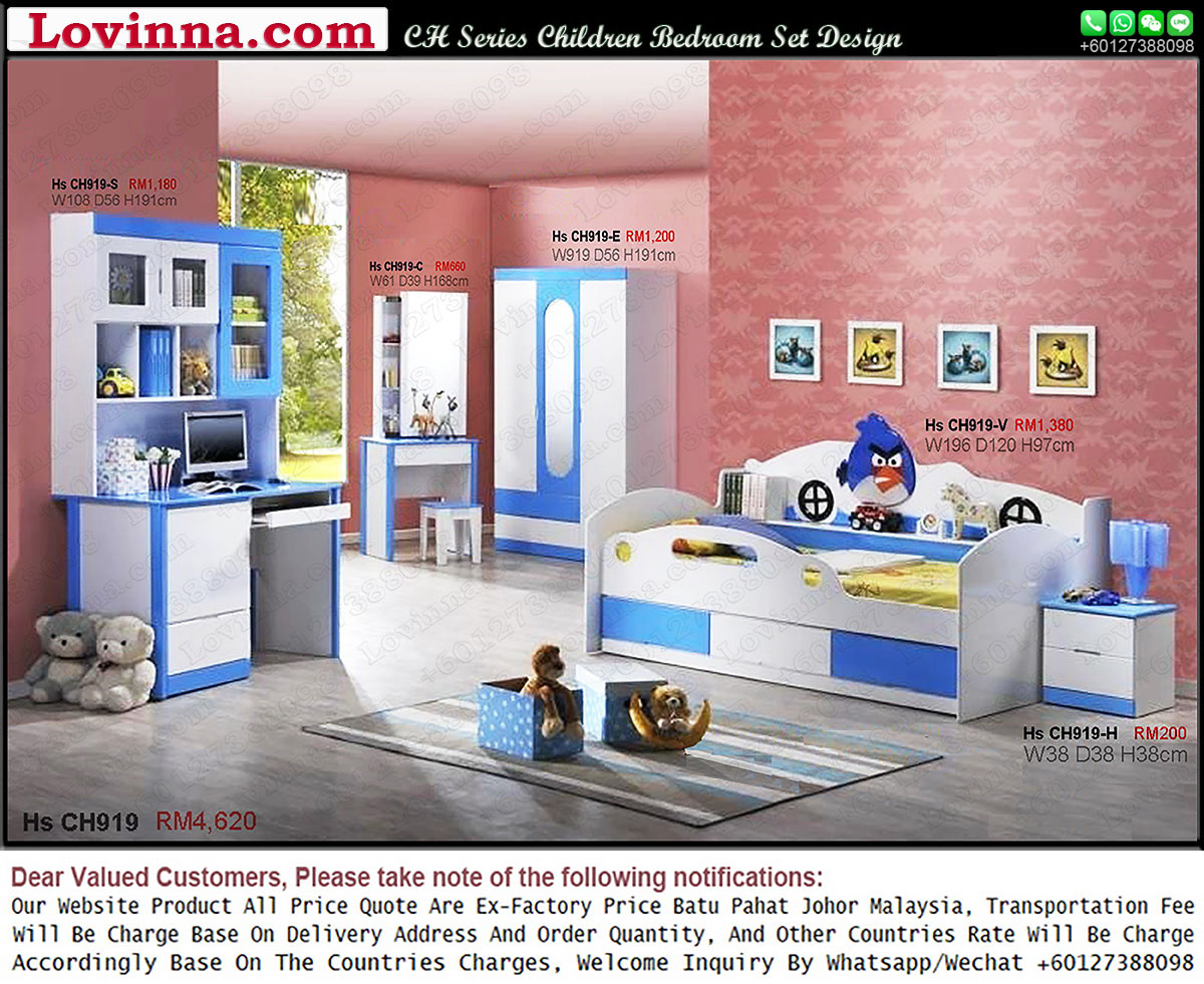 Lovinna Children Bedroom Set Product Malaysia