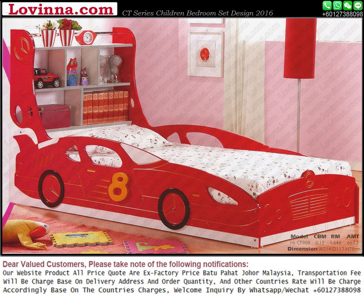 Lovinna Children Car Bed