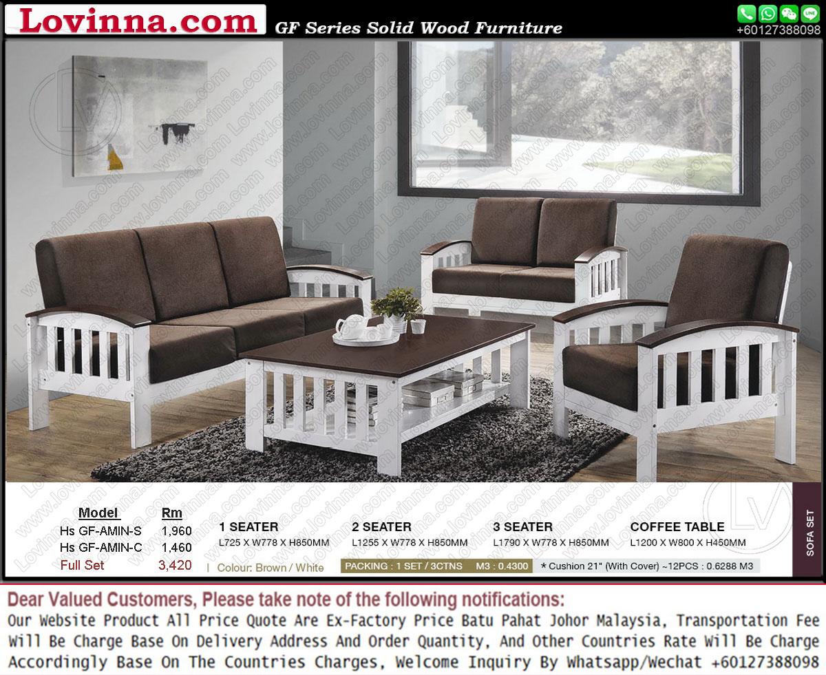 Lovinna wooden sofa for Classic sofa malaysia