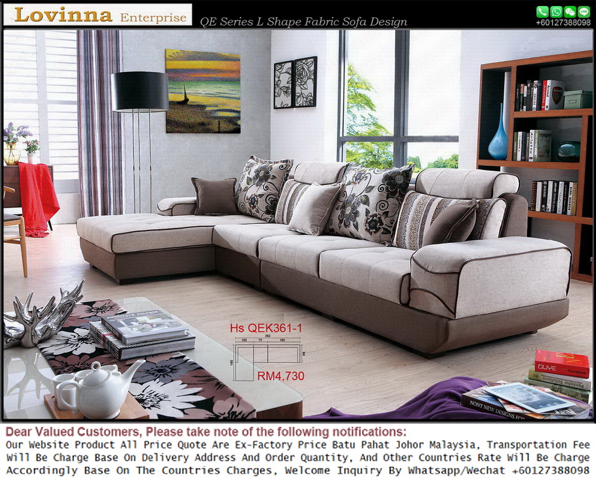 L Shaped Fabric Sofa Malaysia Full Size Of Living Simple