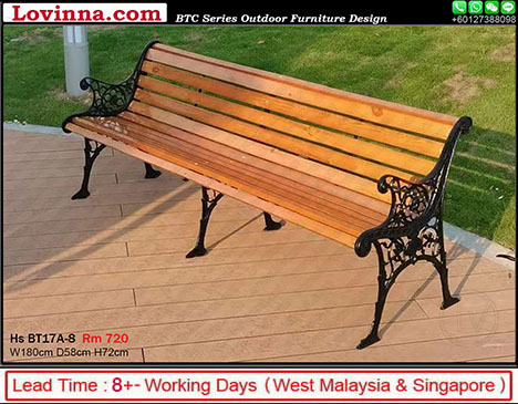 Garden Bench For 3 Seater