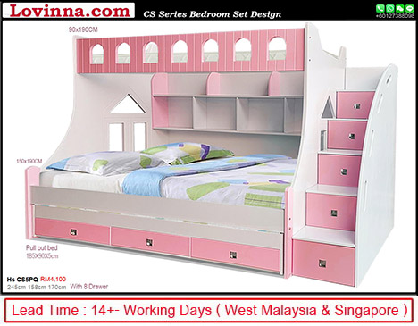 childrens double beds