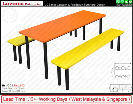 folding canteen tables