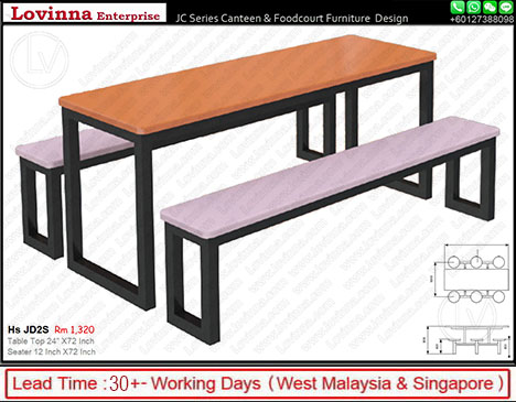 canteen seating furniture