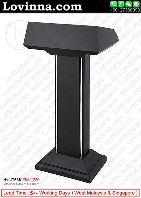 folding podium stand, contemporary lecterns and podiums, perspex pulpit, audio visual podium, large podium, pulpit maker, speech on podium