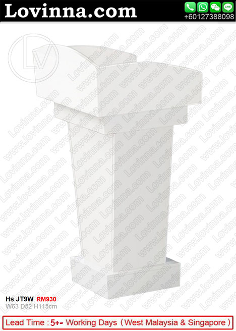 LECTERN WHITE COLOUR