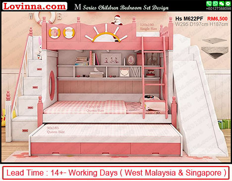 double decker bed with storage