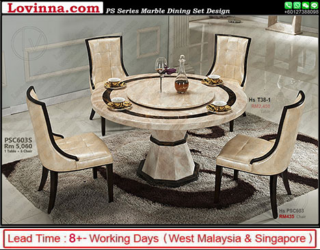 marble dining table malaysia