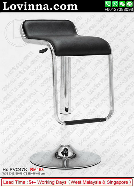 High Quality Barstool In Black Color