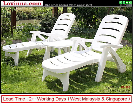 white garden bench patio table 12 jan 2018 ready stock 2 unit price rm 595 lead time 2 working days west malaysia singapore - Garden Furniture Malaysia