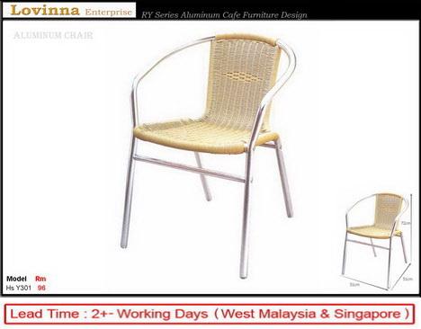 Aluminum PE Rettan Chair