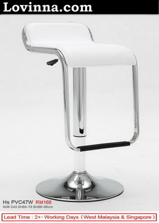 High Quality Barstool In White Color