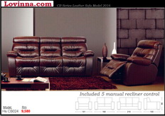 Full Leather Sofa
