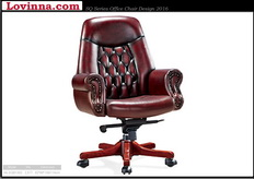 half leather chair