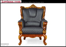 armchair leather vintage