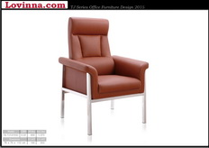 genuine leather executive office chair