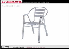 Lovinna Aluminum Douber Tube Chair