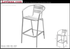 Lovinna High Aluminum Chair