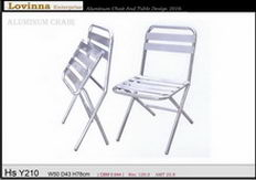 Lovinna Aluminum Folding Chair